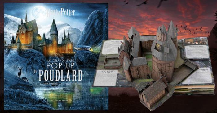 La carte pop-up de Poudlard débarque en octobre prochain
