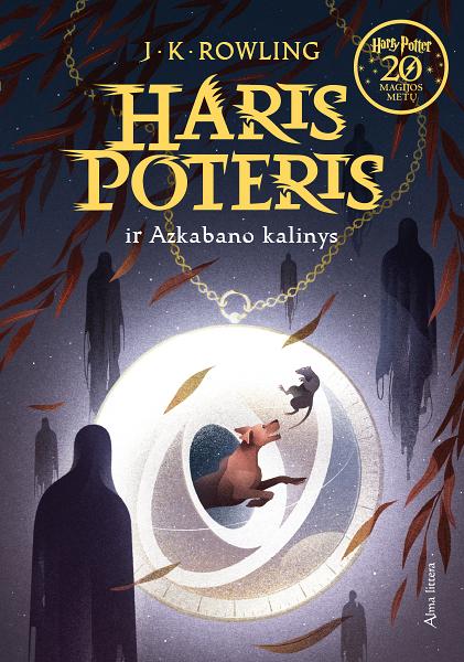 Couverture de Harry Potter et le prisonnier d'Azkaban Lituanie