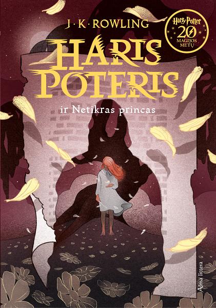 Couverture de Harry Potter et le prince de sang-mêlé Lituanie