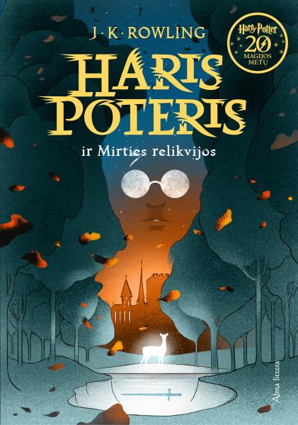 Couverture de Harry Potter et les Reliques de la Mort Lituanie