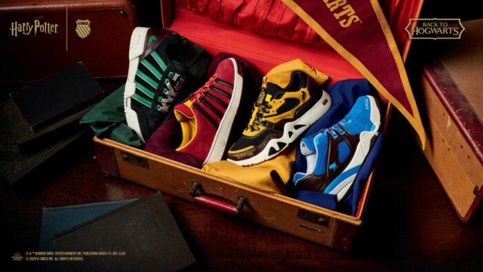 Les chaussures Harry Potter 4 maisons par K-Swiss