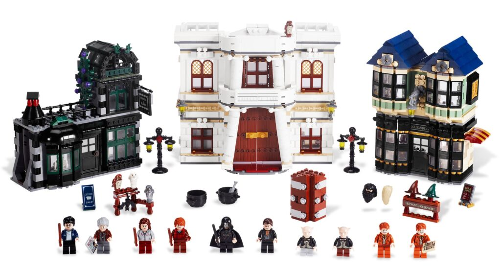 Le Chemin de Traverse en LEGO en 2011