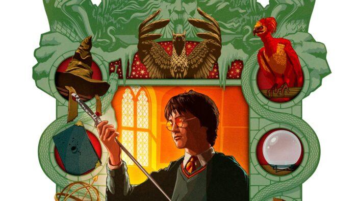Les moments magiques de Harry Potter par MinaLima