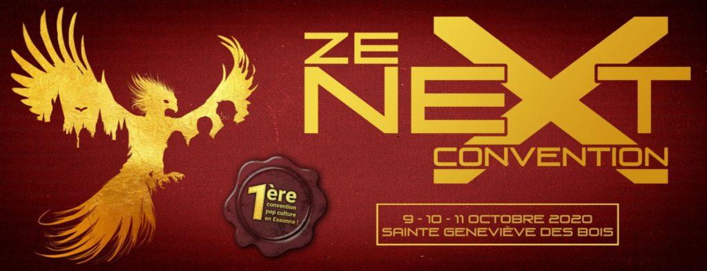 Visuel d'annonce de Ze Next Convention