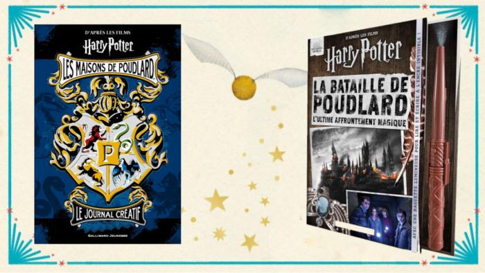 Deux nouveaux livres Harry Potter interactifs chez Gallimard Jeunesse