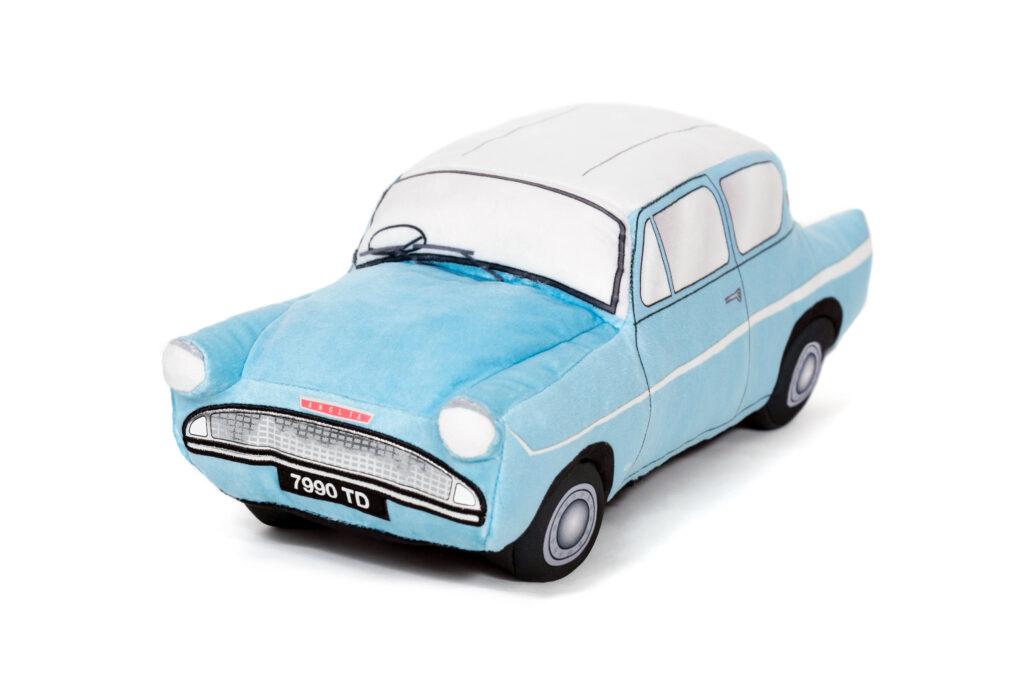La Ford Anglia des Wealsey en peluche
