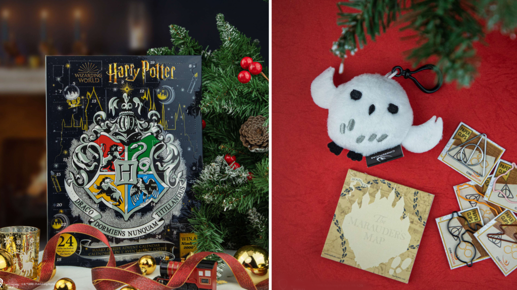 Calendrier de l'avent Harry Potter 2020 - Cinereplicas