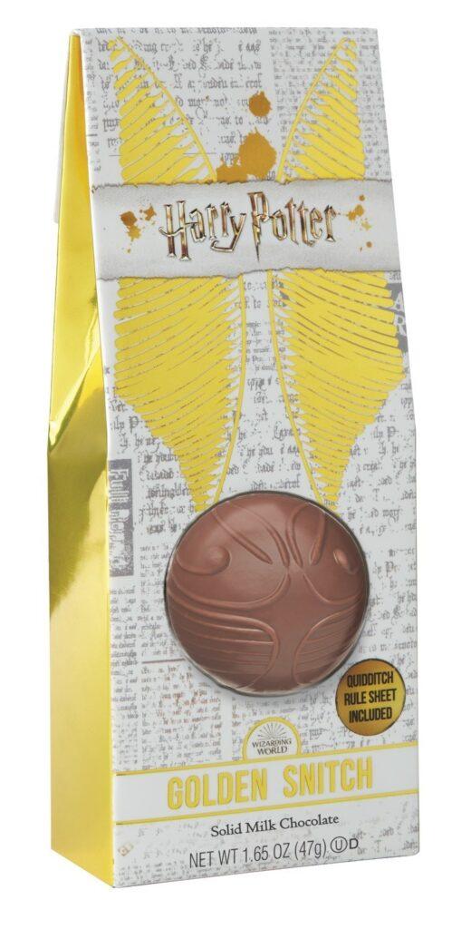 Packaging du vif d'or en chocolat de Jelly Belly