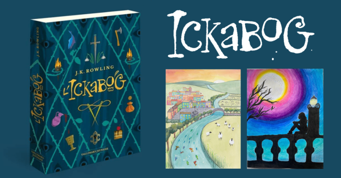 The Ickabog, les illustrations britanniques et américaines