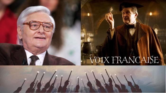 Roger Carel, la voix française de Horace Slughorn s'éteint