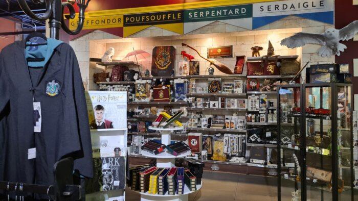 Ouverture d'une boutique Harry Potter officielle éphémère à Lyon