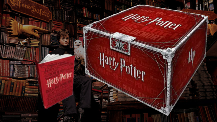 Nouveau coffret Harry Potter collector Folio Junior chez Gallimard Jeunesse