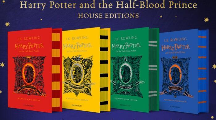 Les couvertures de Harry Potter et le Prince de sang-mêlé édition 4 maisons dévoilées !