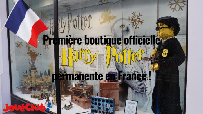 La première boutique Harry Potter officielle permanente en France