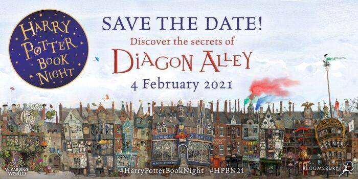 Bloomsbury annonce le thème de la Harry Potter Book Night 2021 !