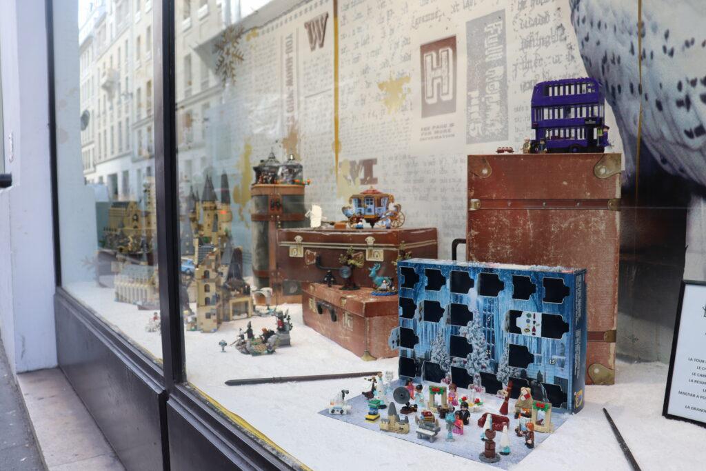vitrine boutique harry potter paris jouéclub