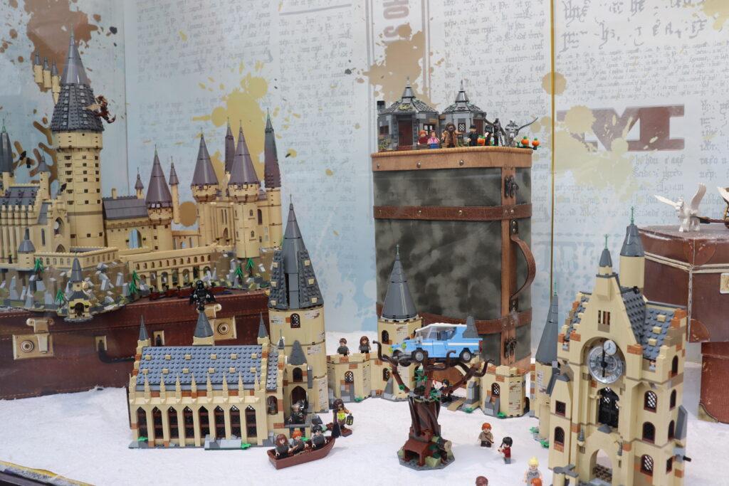 vitrine boutiques Harry Potter Paris Jouéclub