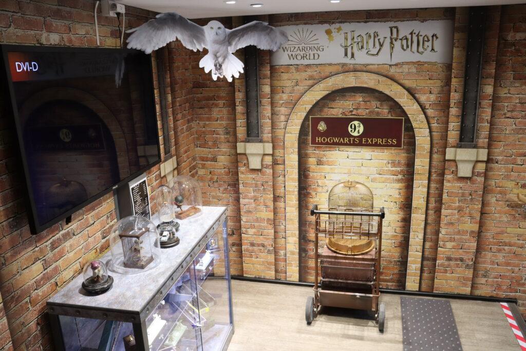 chariot kings cross boutique Harry Potter officielle France Paris Jouéclub
