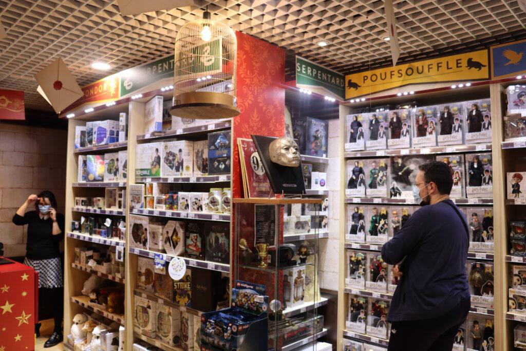 produits boutiques Harry Potter Paris Jouéclub
