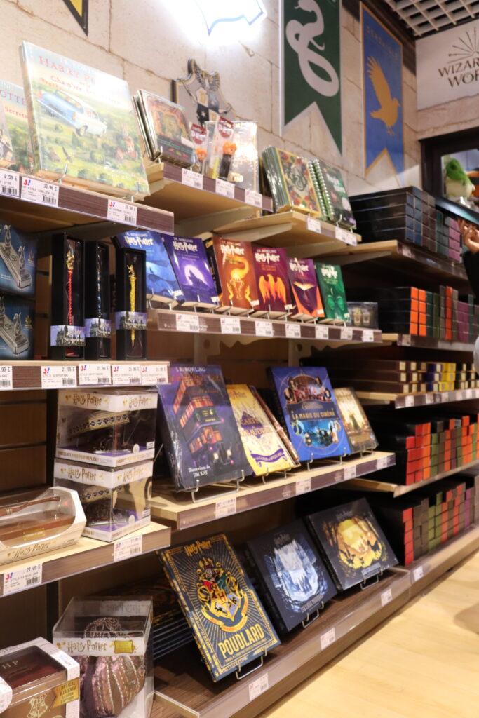 livres boutiques Harry Potter officielle Paris Jouéclub