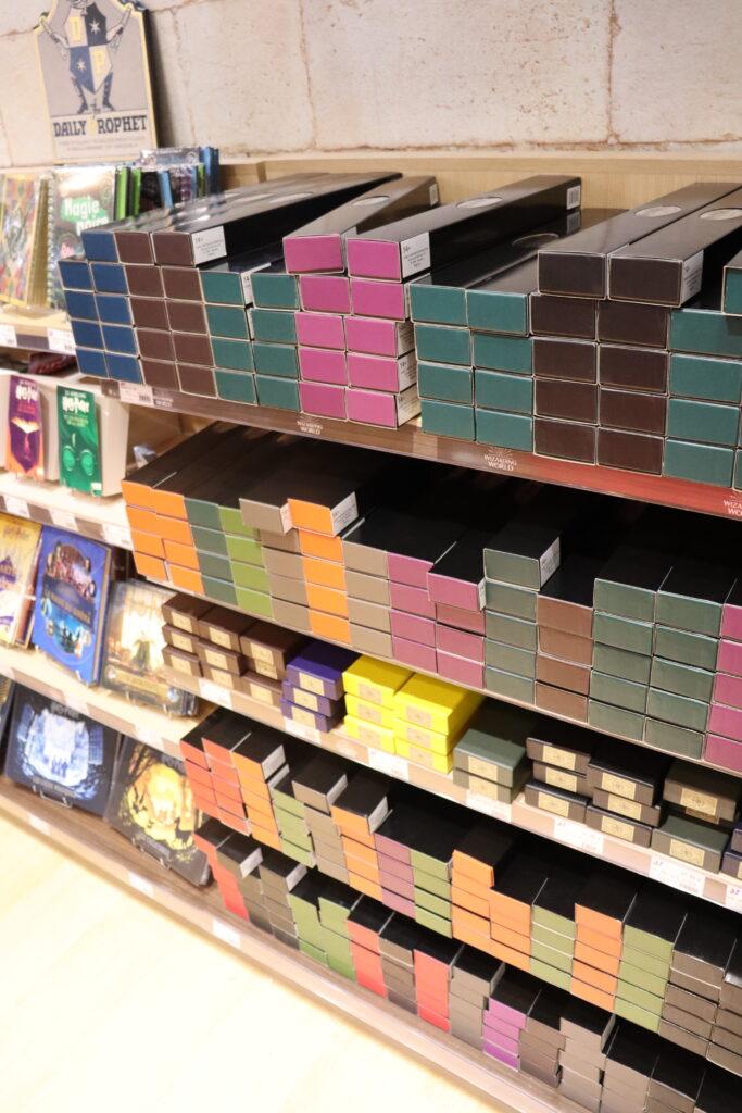 baguettes boutiques Harry Potter Paris Jouéclub