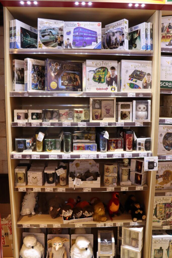 figurines boutiques Harry Potter Paris Jouéclub