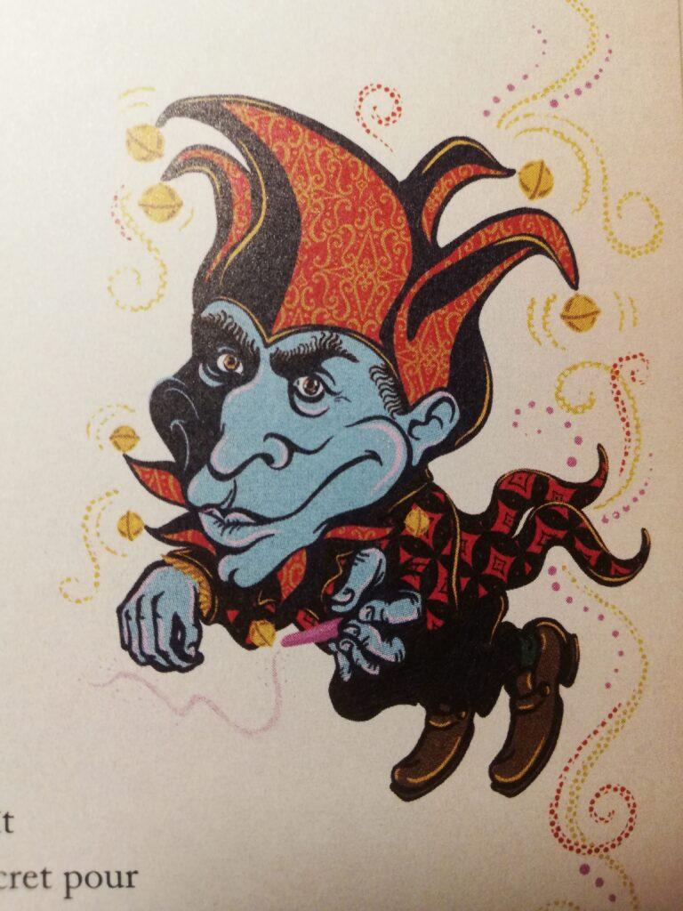 Peeves Harry Potter à l'école des sorciers minalima illustrations