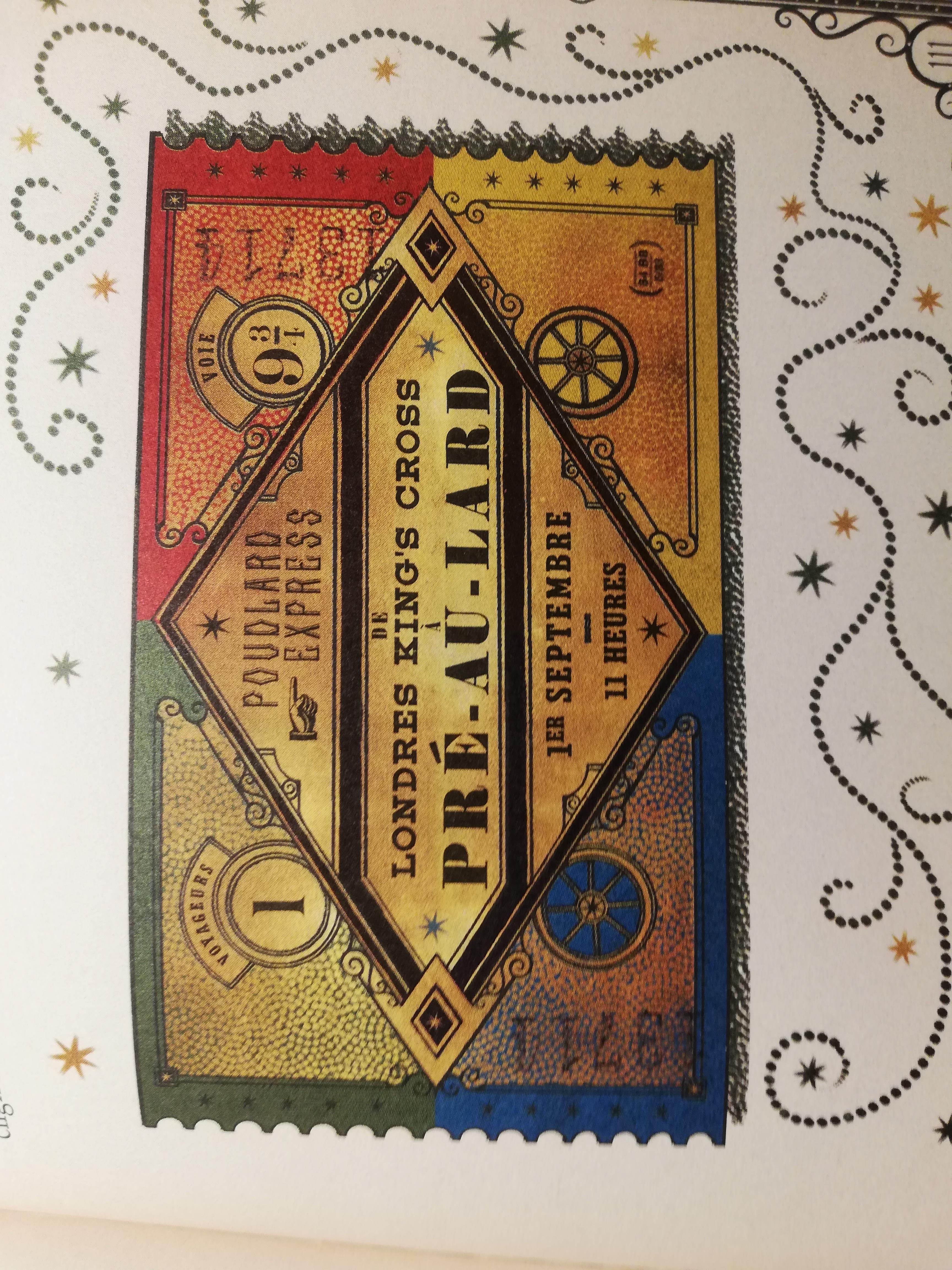 poudlard express Harry Potter à l'école des sorciers minalima illustrations