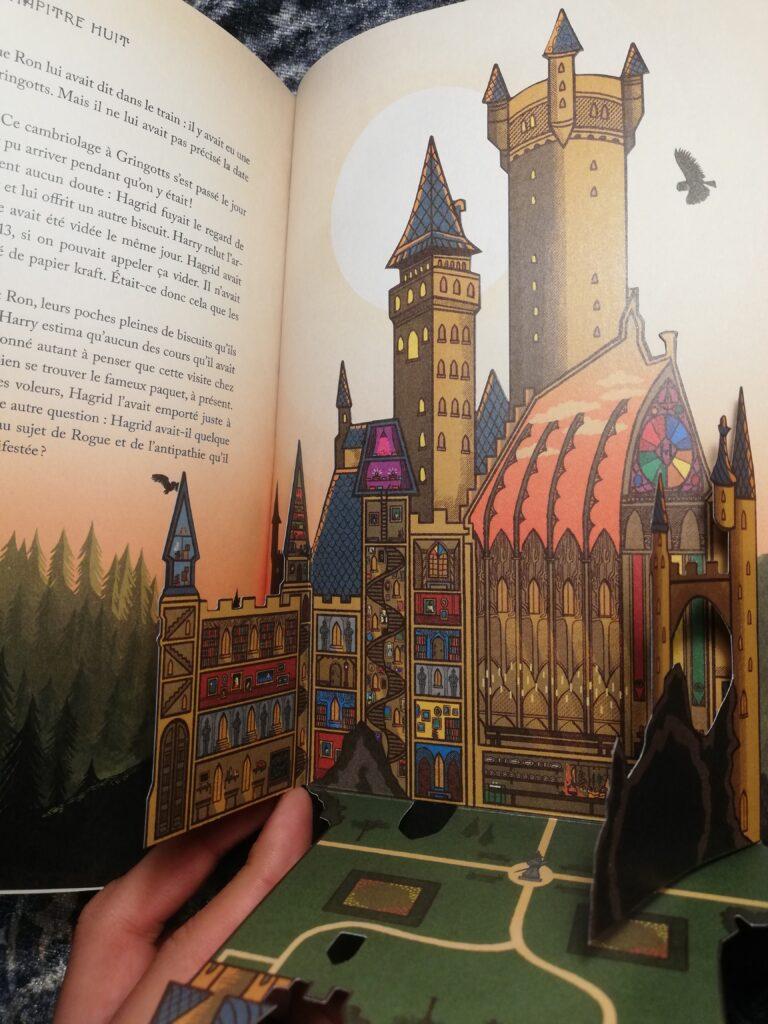 plan poudlard Harry Potter à l'école des sorciers minalima illustrations