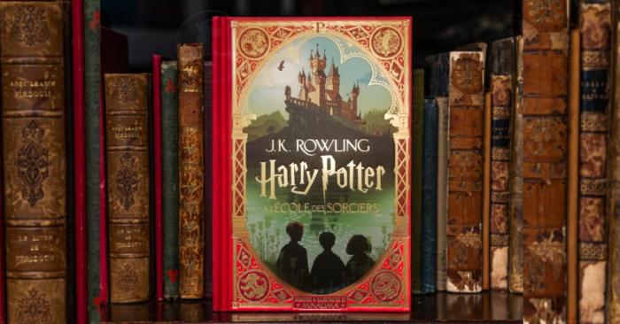 Harry Potter à l'école des sorciers illustré par Minalima en réimpression