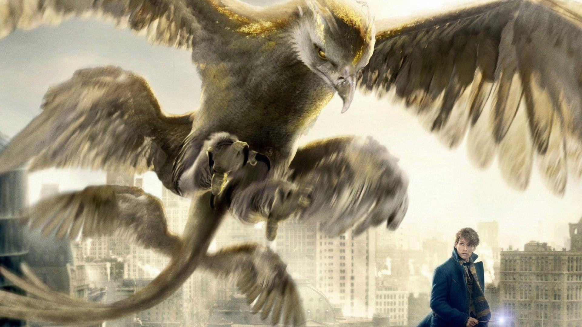 Oiseau-Tonnerre et Newt Animaux Fantastiques New-York