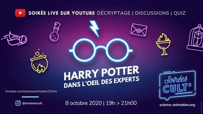 Soirée spéciale «Harry Potter dans l'œil des experts»