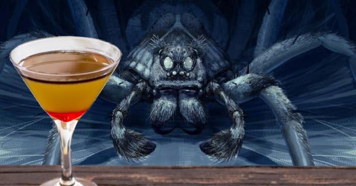 Le cocktail Aragog ; hommage particulier à Harry Potter