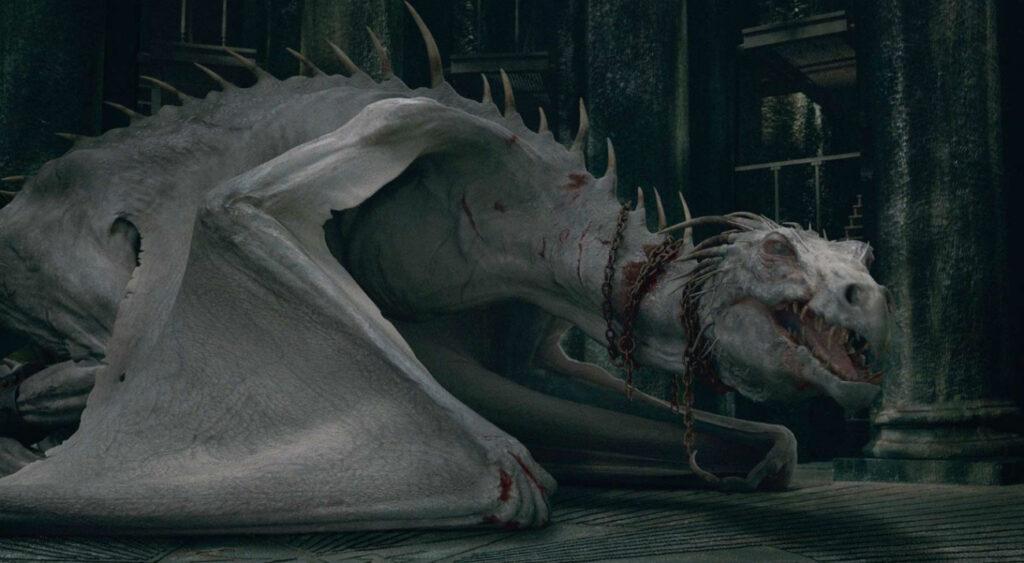 Le dragon de Gringotts