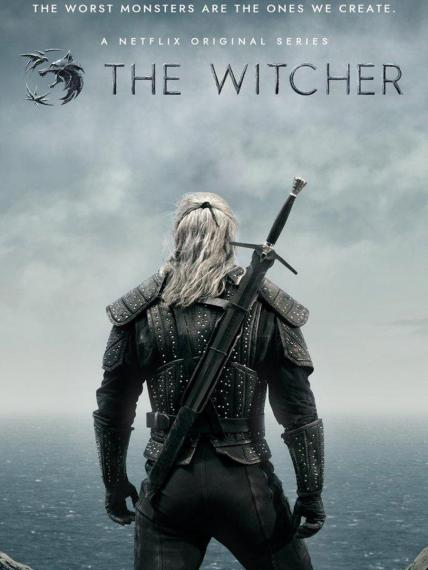 Affiche de la série The Witcher sur Netflix