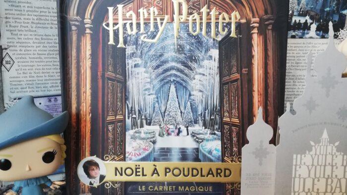 Livre : Le Carnet Magique pour passer Noël à Poudlard