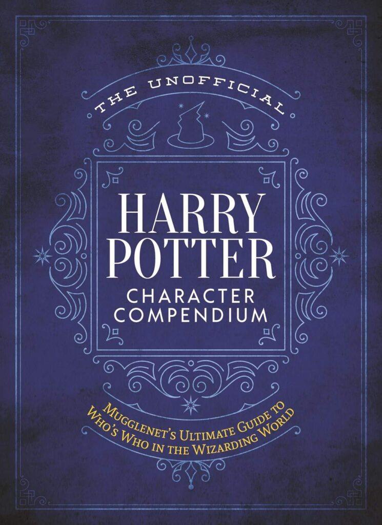 Couverture du The Unofficial Harry Potter Character Compendium, livre encyclopédique sur le Wizarding World par Mugglenet.com