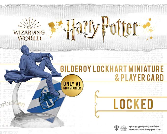Jeu de figurines quidditch - Gilderoy Lockhart