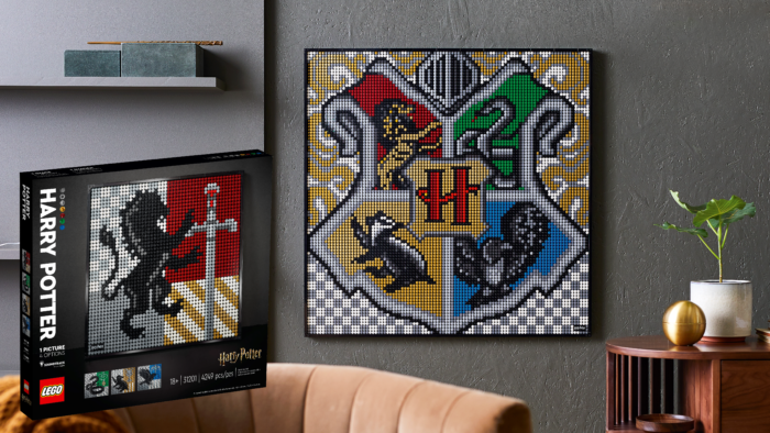 Un LEGO Art Harry Potter à accrocher dans votre salon