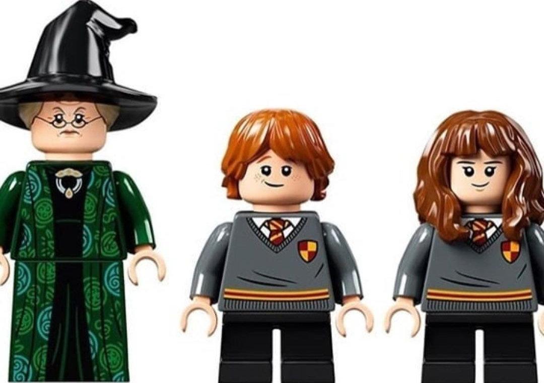 LEGO McGonagall, Ron et Hermione