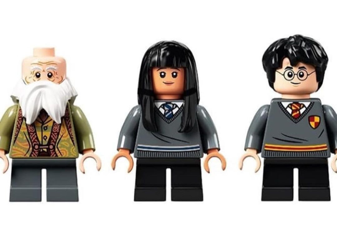 LEGO Flitwick, Cho Chang et Harry