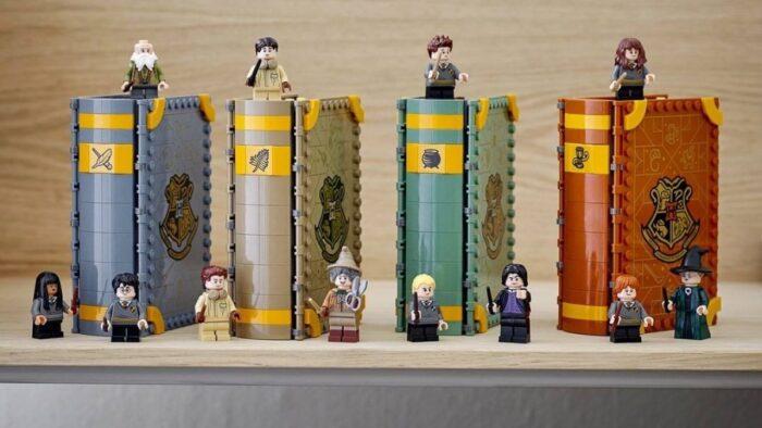 Les «Hogwarts Moments» des livres LEGO Harry Potter qui ont «la classe» !