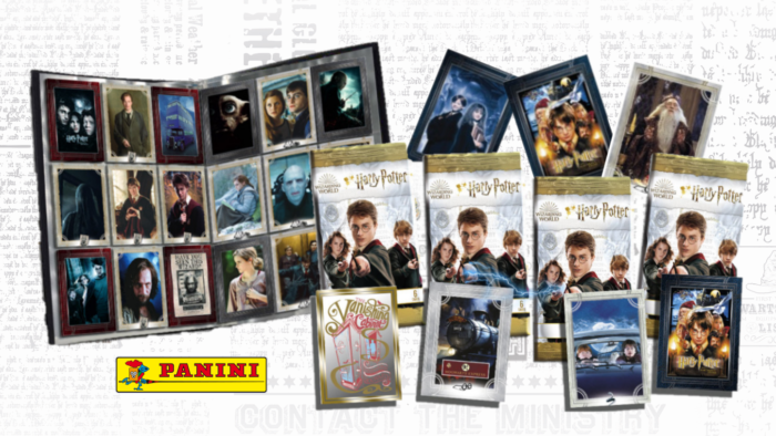 Une nouvelle collection de cartes Harry Potter par Panini