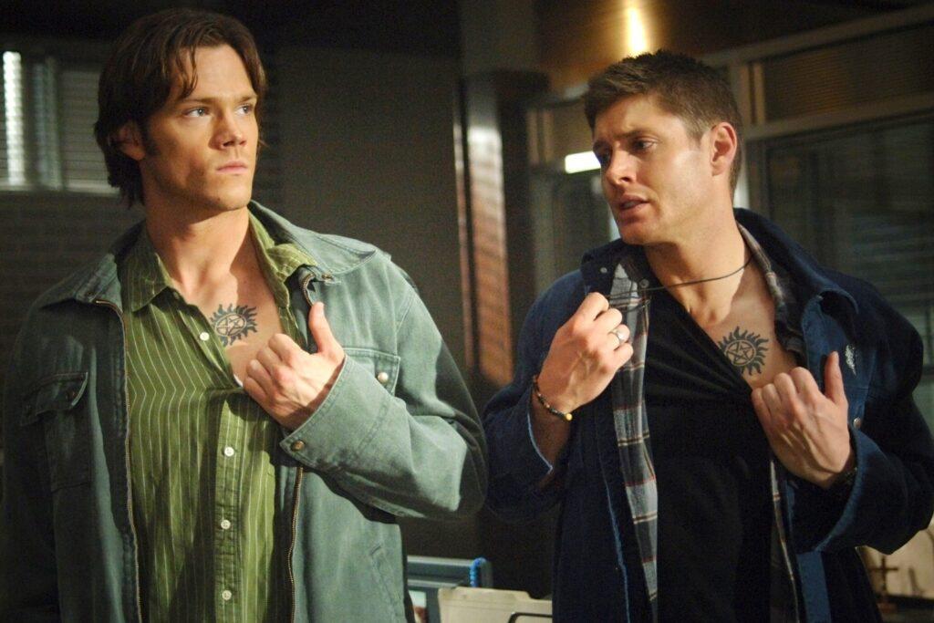 PotterAtfer Supernatural Sam et Dean pentagramme