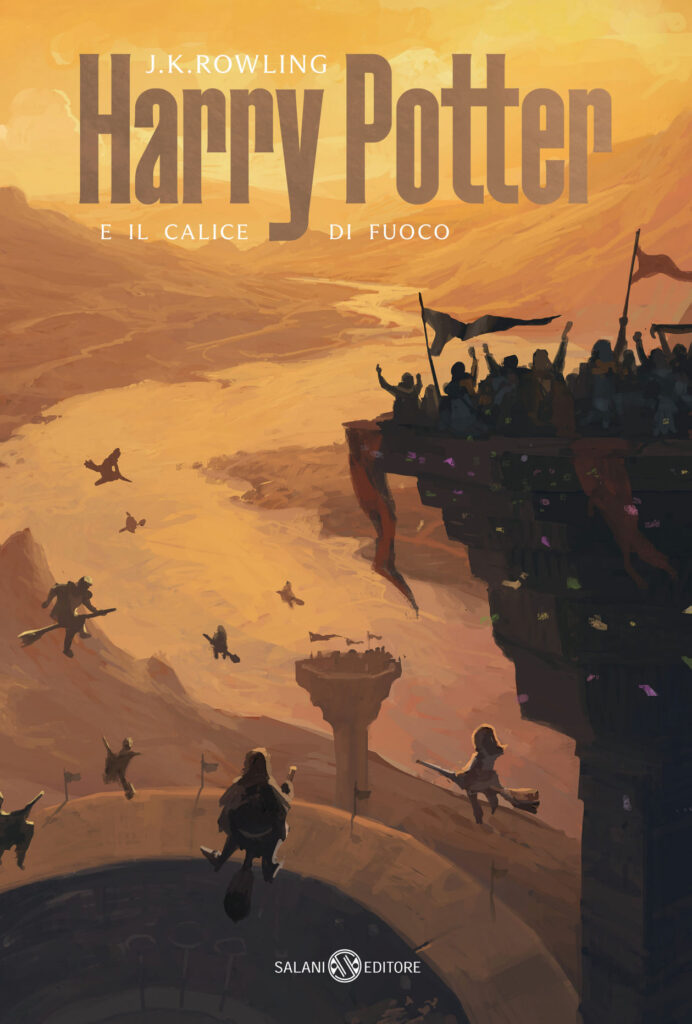 Couverture de Harry Potter et la coupe de feu, Italie 2021 (Harry Potter e il calice di fuoco)