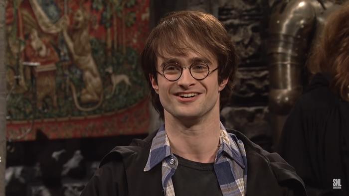Daniel Radcliffe parodie Harry Potter pour Saturday Night Live