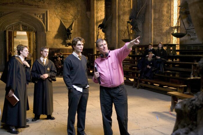 «Harry Potter et la Coupe de Feu, c'est de l'amour et de l'anarchie» – Mike Newell