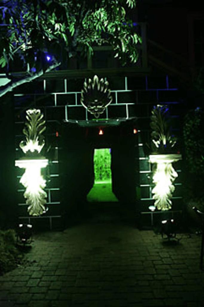 Il fallait traverser une porte convertie en cheminée du ministère lors de la soirée de gala pour le film Harry Potter et l'Ordre du Phénix