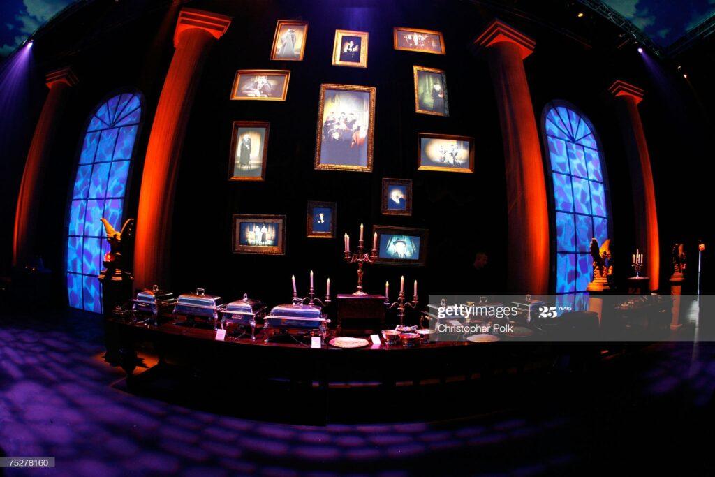 Espace intérieur lors de la soirée de gala pour le film Harry Potter et l'Ordre du Phénix