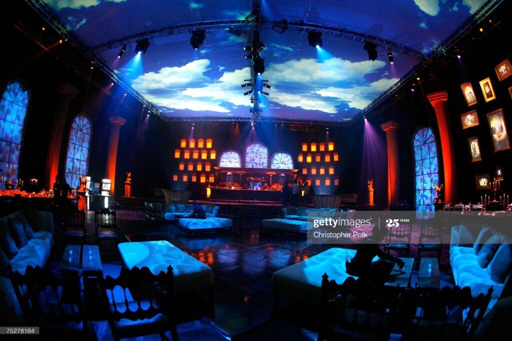 Espace intérieur lors de la soirée de gala pour le film Harry Potter et l'Ordre du Phénix - décrets d'ombrage